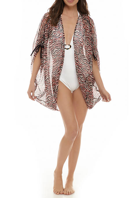 Betsey Johnson Cocoon Ziger Topper