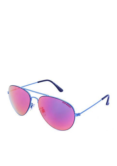 Mirror Aviator Sunglasses