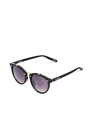 568662a8dd1b Steve Madden Round Metal Back Frame Sunglasses | belk