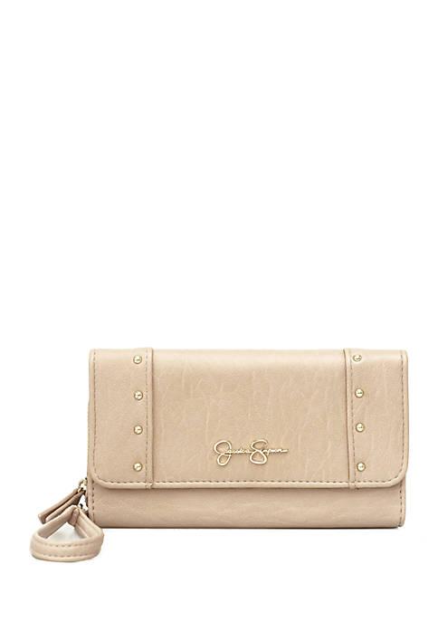 Jessica Simpson Misha Front Flap Wallet with Zip