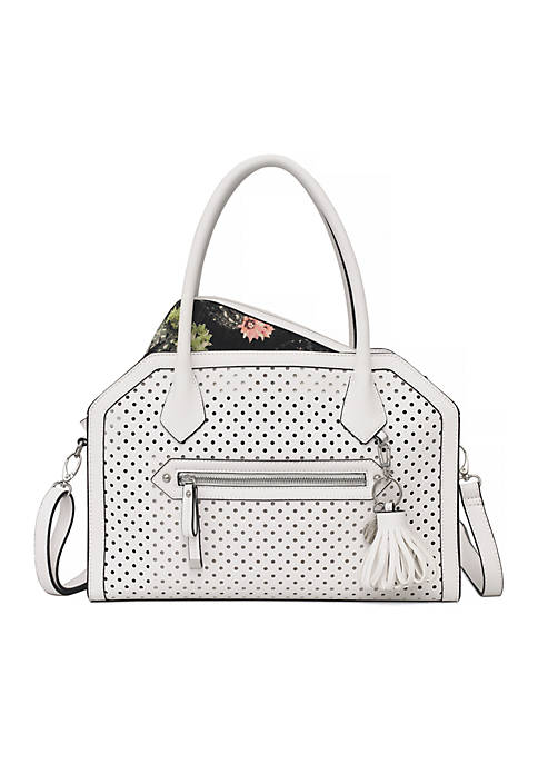 Jessica Simpson Issy Satchel With Pouch