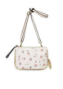 Camille Double Zip Crossbody Bag