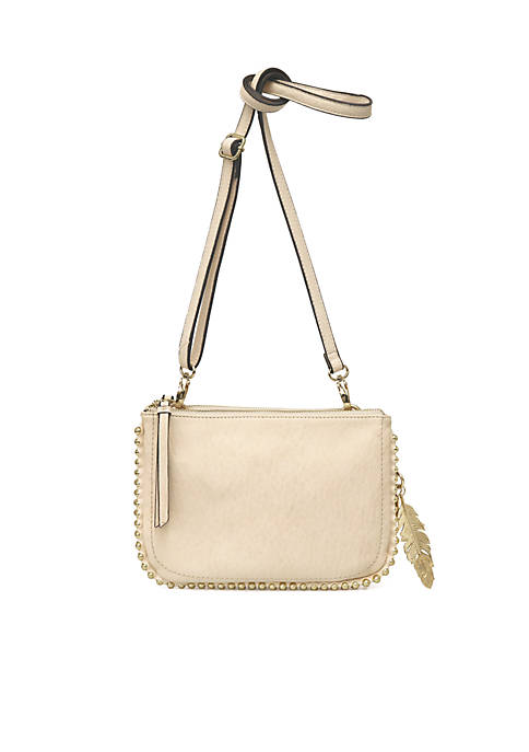 Jessica Simpson Camille Double Zip Crossbody Bag