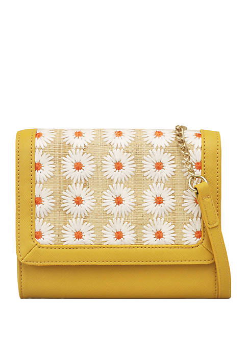 Jessica Simpson Candie Flap Crossbody Bag