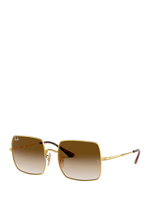 Large Metal Square Sunglasses