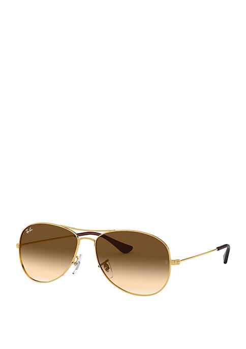 New Chic Classic Metal Aviator Sunglasses