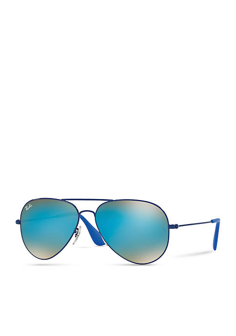 Ray-Ban® Flash Lens Aviator Sunglasses