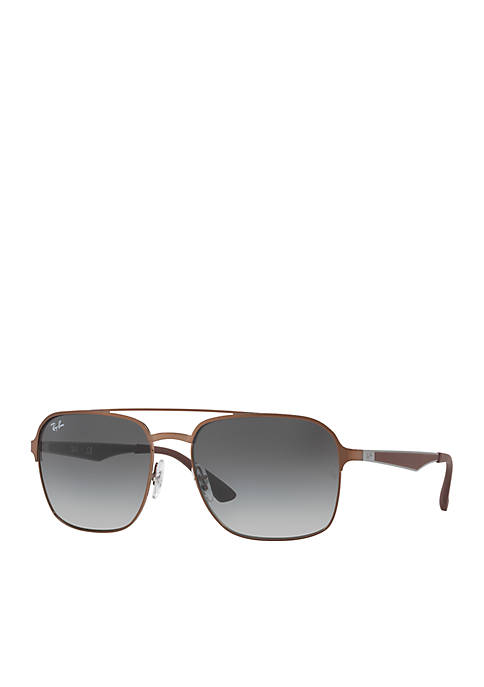 Ray-Ban® Unisex Square Sunglasses