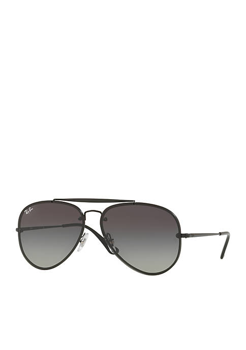 Ray-Ban® Brow Bar Aviator Sunglasses
