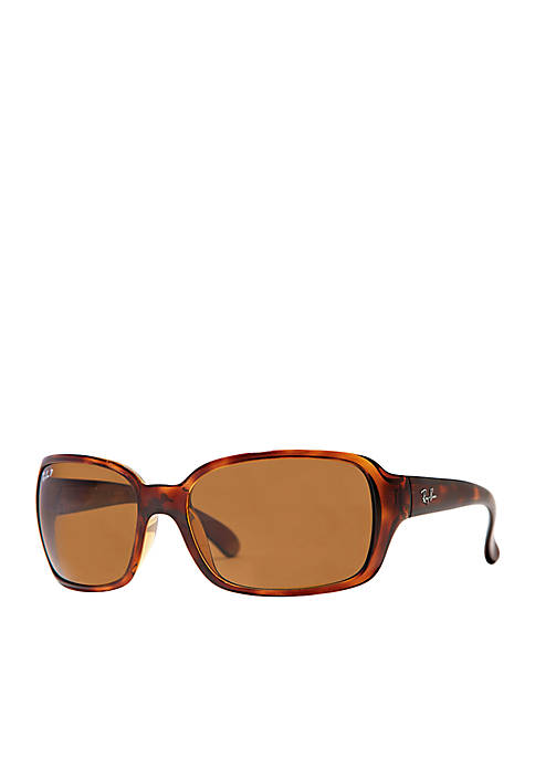Polarized Wrap 60-mm. Sunglasses