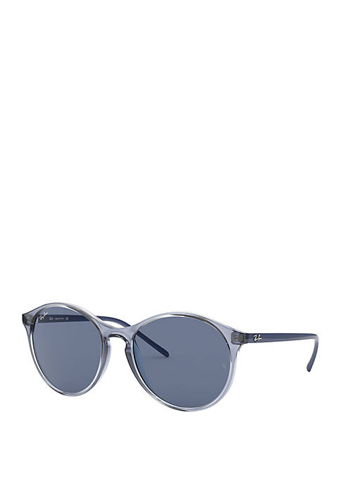 Ray-Ban® Transparent Round Sunglasses