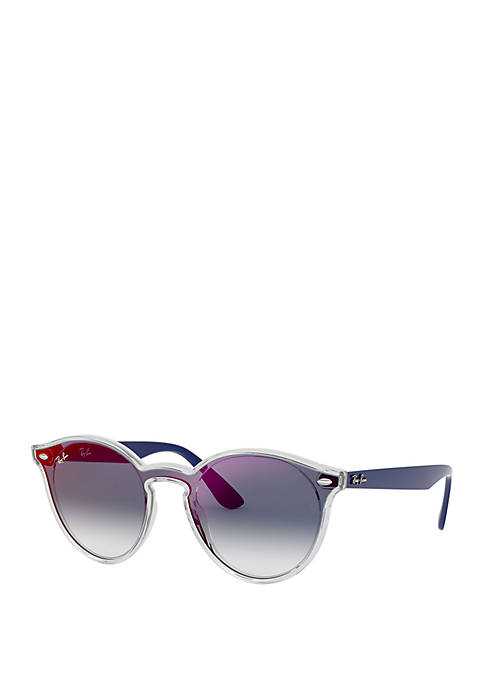 Mirror Round Sunglasses