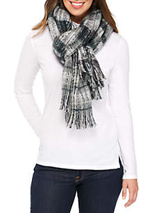 Boucle Soft Ombre Blanket Scarf