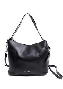 Boho Studded Hobo Bag