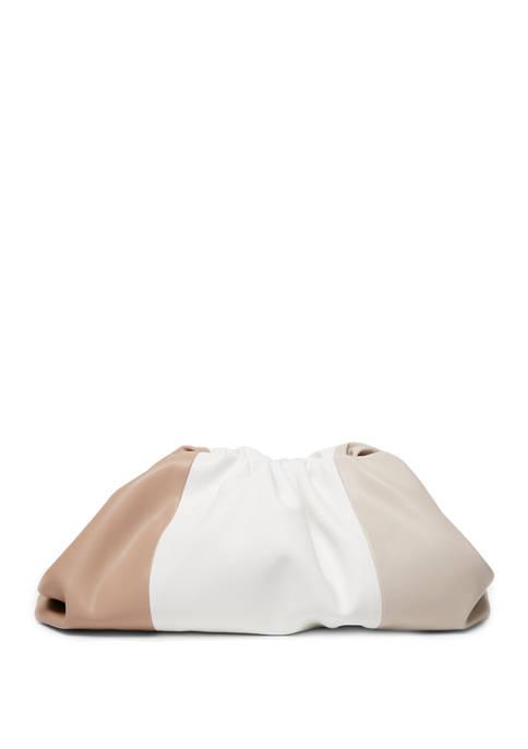 Large Soft Pouch Evening Bag
