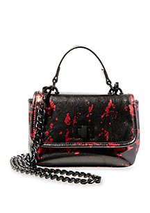 Smooth Quilted Chain Strap Crossbody