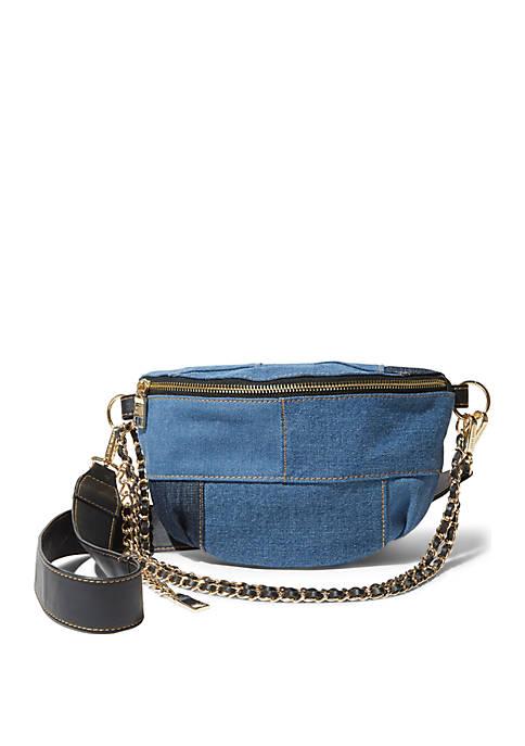 Drama Denim Belt Bag