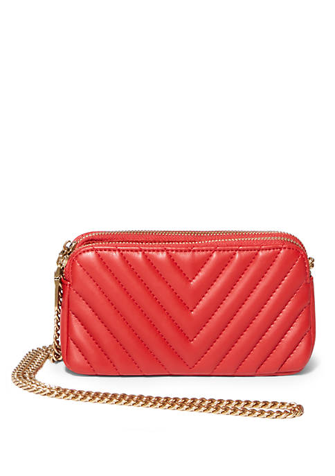 Steve Madden Gina Chevron Quilted Crossbody