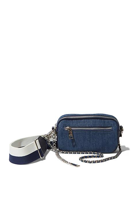 Happy Denim Belt Bag