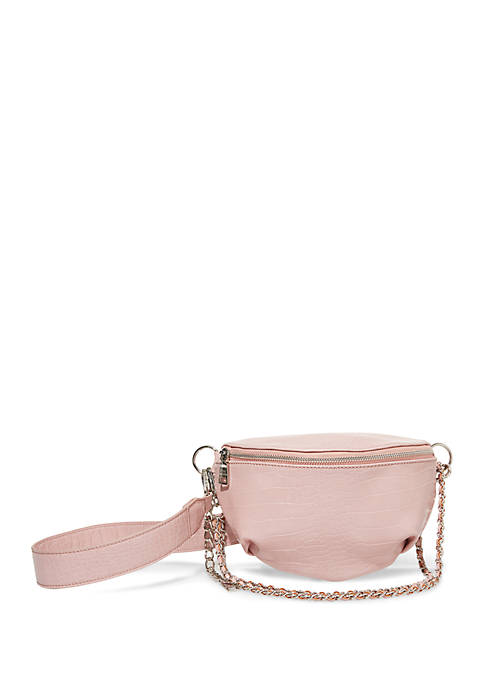 Icry Crocodile Belt Bag