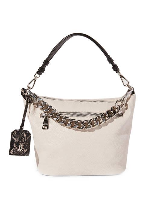 Top Zip Crossbody Bag