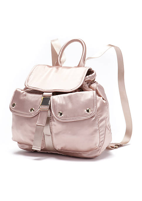 Satin Small Backpack