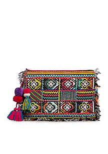 Steve Madden Bkarla Resort Fabric Clutch
