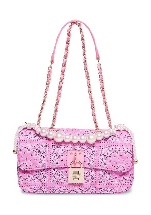 Pearl Handle Shoulder Bag