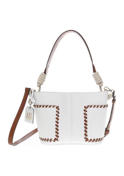 Rope Detail Bucket Shoulder Bag