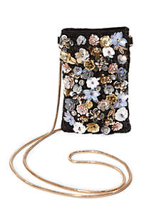 Blilo Phone Pouch Crossbody With Sequin Applique