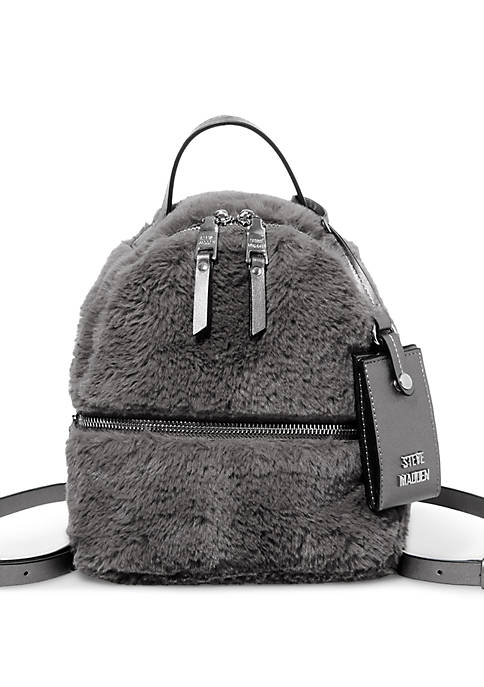 Fur Mini Backpack