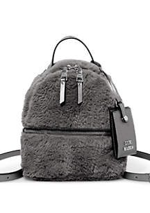 Steve Madden Fur Mini Backpack
