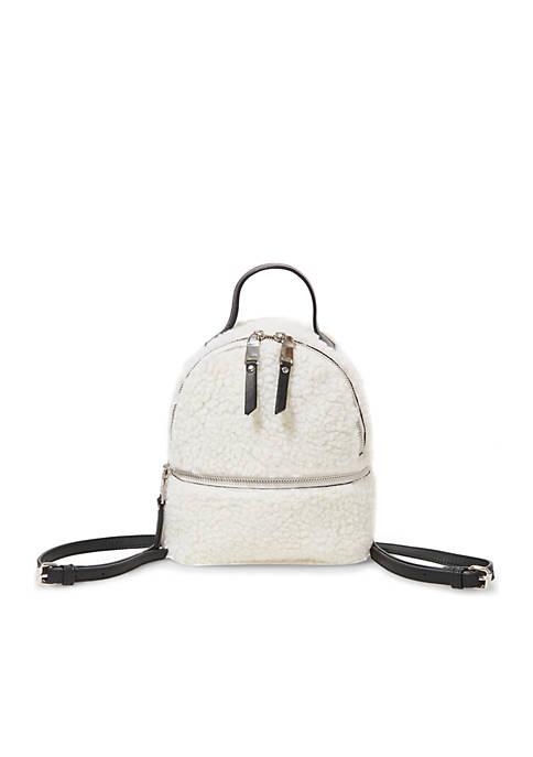 Steve Madden Fur Mini Backpack