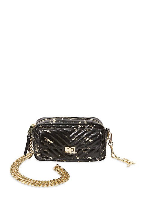 Steve Madden Quilted Crossbody with Chain Strap