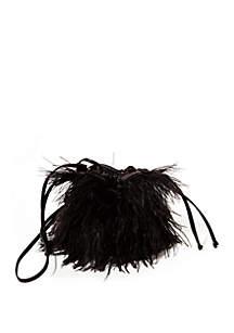 Steve Madden Marabou Bucket Bag