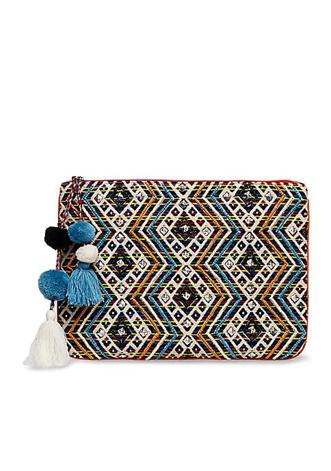 Steve Madden Bshaye Resort Fabric Clutch