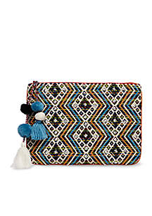 Steve Madden Bshaye Resort Fabric Clutch