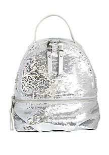 Steve Madden Tiara Sequin Mini Backpack
