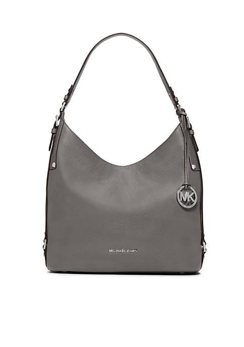 94e738e888eb2e MICHAEL Michael Kors Bedford Belted Large Shoulder Bag | belk