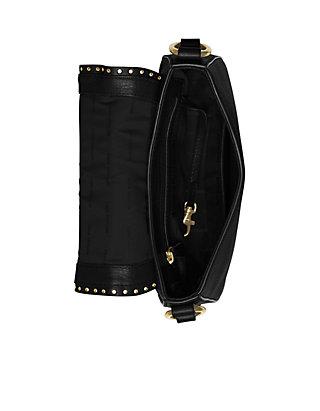 6b699cf04fd8 ... MICHAEL Michael Kors Brooklyn Medium Leather Saddlebag ...