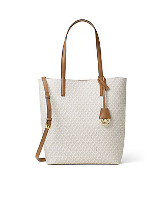 0a8a9c08a14429 MICHAEL Michael Kors. MICHAEL Michael Kors Hayley Large Logo North-South  Tote