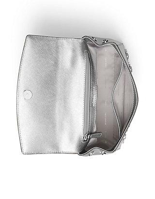 fe6600cdb5fa ... MICHAEL Michael Kors Ava Extra-Small Jewel Leather Satchel ...