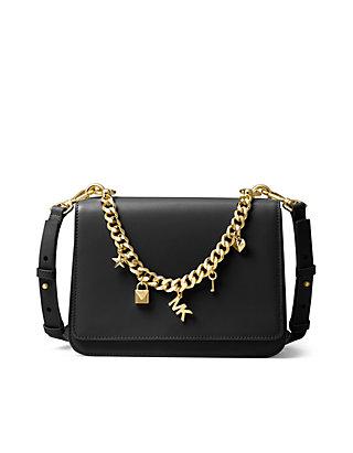4ccabbe923b6b7 MICHAEL Michael Kors. MICHAEL Michael Kors Mott Large Charm Swag Shoulder  Bag