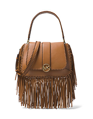 022419dc359a MICHAEL Michael Kors. MICHAEL Michael Kors Lillie Medium Fringe Shoulder Bag