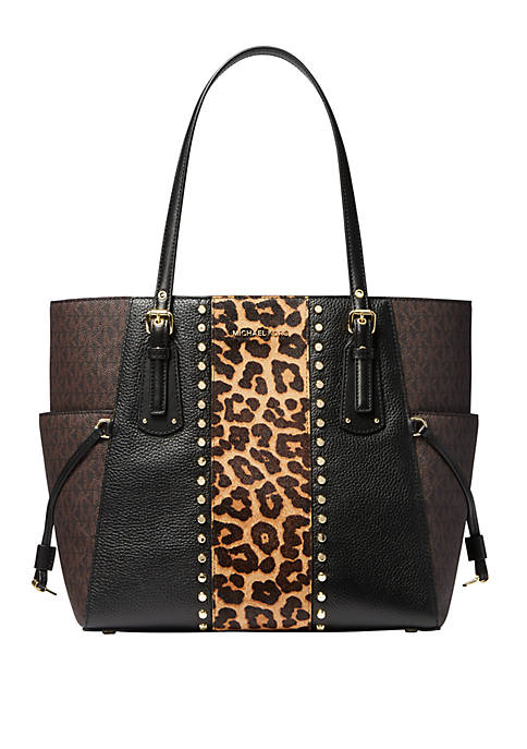 Voyager East West Leather Tote