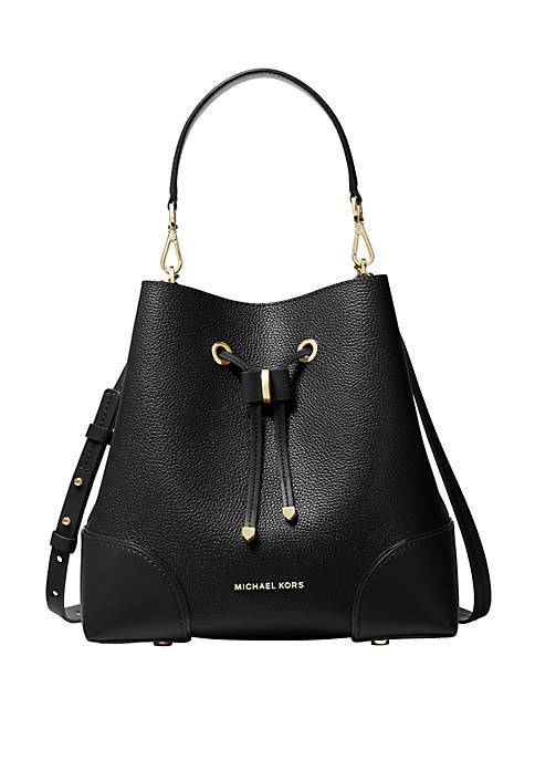 MICHAEL Michael Kors Mercer Gallery Medium Pebbled Leather