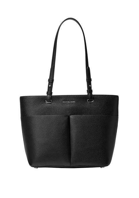 Bedford Medium Top Zip Pocket Tote Bag