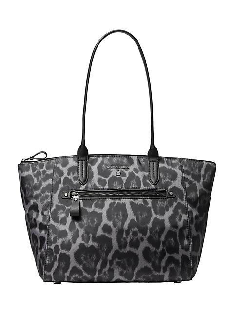 Kelsey Nylon Zip Top Tote Bag