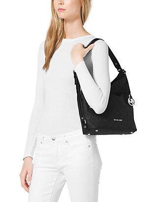 63aa27ae169f ... MICHAEL Michael Kors Bedford Belted Large Shoulder Bag ...