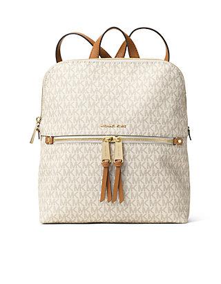 8041383dd190 MICHAEL Michael Kors. MICHAEL Michael Kors Rhea Zip Medium Slim Backpack